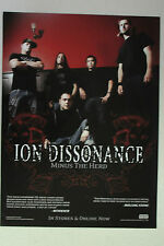 "ION DISSONANCE ""Minus the Herd"" Full Page AD magazine clipping grind"