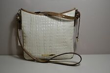 NWT BRAHMIN JODY MARSHMALLOW LEATHER MESENGER BAG CROSSBODY PURSE H78 741