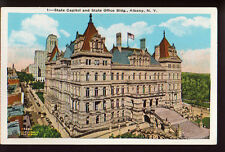 ALBANY NEW YORK NY State Capitol Old Postcard PC