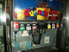 SODA AND ICE DISPENSING MACHINE, 8 HEADS, COMPLETE, 115V,NICE 900 ITEMS ONBAY