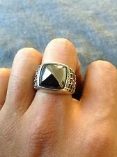 Used 100% authentic David Yurman men's sea horse ring size 10