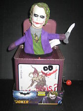 BATMAN DARK KNIGHT CON EXCLUSIVE RETRO JOKER JACK IN THE BOX FIGURE HEATH LEDGER