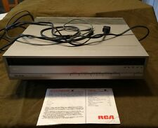 RCA SelectaVision SJT 200 Stereo Video Laser Disc Player