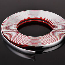 8meters*16mm Chrome Car Styling Moulding Strip Trim Self-Adhesive Fits Most Car