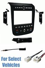 BLACK CAR STEREO RADIO INSTALL DASH KIT+WIRE HARNESS+ANT for 03-07 NISSAN MURANO