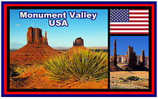 MONUMENT VALLEY, USA - SOUVENIR NOVELTY FRIDGE MAGNET - BRAND NEW - GIFT