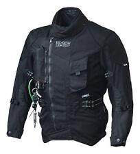 IXS Motorcycle Jacket Textile jacket Stunt Airbag M black waterproof Membrane