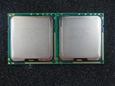 Matched Pair Intel  X5670 2.93GHz 12MB 6.4 GT/s 6-Core SLBV7