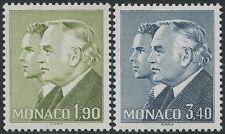 MONACO 1986  Yvert# N°1538-1539** RAINIER III & ALBERT / MNH