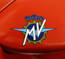 MV AGUSTA 750 F4 FUEL TANK SIDES DECALS/STICKERS  PAIR