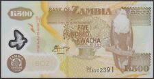 TWN - ZAMBIA 43e - 500 K. 2006 UNC Polymer - Pr. DJ/03 - FREE SHIPPING over €150