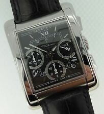 Bedat & Co. No. 7 Automatic Chronograph Black Dial Stainless Steel Ref: 768