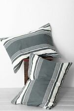 NEW URBAN OUTFITTERS LOCUST 4040 AGAVE GREEN EAGLE EYE SET OF 2 STANDARD SHAMS