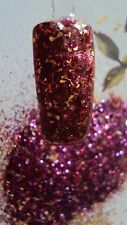 glitter mix acrylic gel nail art       CRACKLE