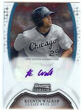 KEENYN WALKER Auto 2011 Bowman Sterling Autograph BSP-KWA White Sox