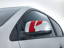 Kia (Genuine OE) Picanto 2011-2016 Door mirror decals Dark Red 1Y430ADE00DR