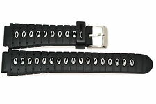 18MM BLACK HEAVY DUTY DIVERS RUBBER SPORT WATCH BAND STRAP FITS SEIKO