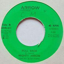 TRINIDAD ROOTS REGGAE 45: MIGHTY ARROW rare ROLL BACK hear it