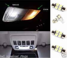5 X Nissan Frontier LED Interior Package Kit For 2005-2012