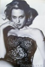 ANGELINA JOLIE Poster - B&W Celebrity Full Size 24x36 Print ~ Sexy Lace Lingerie