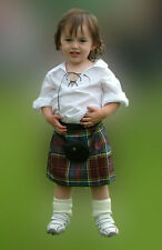 Anderson Baby Kilt 4-12 month Scottish Plaid Fantastic Stocking Stuffer