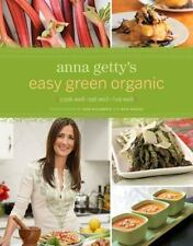 Anna Getty's Easy Green Organic-ExLibrary