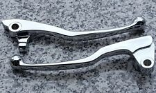 Yamaha VStar V-Star 650 1100 Custom CHROME FRONT BRAKE & CLUTCH LEVERS