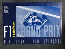 GOODYEAR F1 MOTORSPORT FORMEL 1 KALENDER CALENDAR WANDKALENDER 1997 NEU POSTER !
