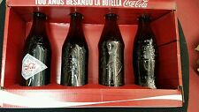 PACK OF 4 COCA COLA  SPECIAL EDITION COLLECTIONABLES 100TH ANNIVERSARY COCA COLA