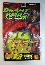 Transformers Beast Wars CHEETOR Blue Eyes Rocky Bubble MOC Sealed