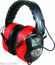 Delta Plus Venitex Pit Radio 2 SNR 28dB Electronic Ear Defenders FM MP3 AUX PPE
