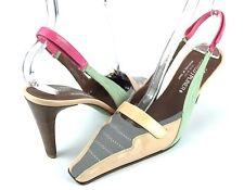 Donald J Pliner Couture Leather Women's Color Slingback Pumps Women's 8 N