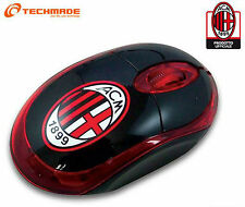 TECHMADE TM-2023 MINI MOUSE OTTICO 800 DPI UFF AC MILAN