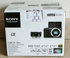 Sony Alpha NEX-3N 16.1MP Digital Camera Body + SELP 16-50mm OSS Lens - BLACK.