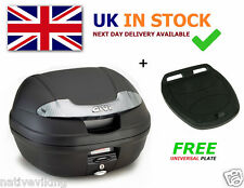 GIVI E340 VISION TECH TOP BOX case + FREE Z113C Universal MONOLOCK Fitting Plate
