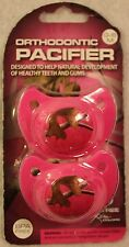 ~NEW Girls REALTREE Camo & Hot Pink Orthodonic Pacifiers! 0-6M BPA Free Cute FS
