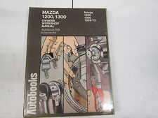 MAZDA 1200 / 1300 Workshop Manual 1969-1973 aytobooks N. 708 shopsoiled