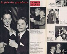 Coupure de presse Clipping 1959 Mickey Rooney  (2 pages)