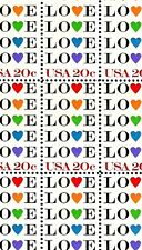1984 - LOVE - HEARTS - #2072 Full Mint -MNH- Sheet of 50 Postage Stamps
