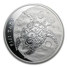 2013 5 oz Silver New Zealand Mint $10 Fiji Taku