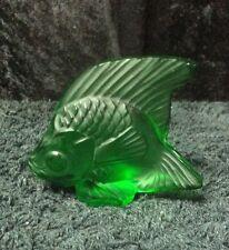 Lalique Green Fish