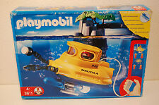 Playmobil 3611 Deep Sea Submarine  in OVP / Box New.