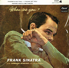 FRANK SINATRA Where Are You? Part 4 EP 7'' VINYL Capitol Records EAP 4-855