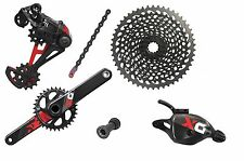 Gruppo SRAM X01 EAGLE RED GXP Press Fit TRIGGER 175mm 10-50 1x12 Velocita'