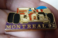 PIN'S F1 FORMULA ONE MC LAREN GRAND PRIX DE MONTREAL 92 CASQUE BERGER GERHARD