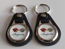 CHEVROLET IMPALA KEYCHAIN 2 PACK CLASSIC FOB 1958 1959 1960 1961 1962 1963 1964