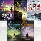 The Crossing Places 5 Books Collection Set The Outcast dead By Elly Griffiths