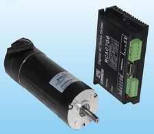 180W 36VDC 0.57N.m 57mm Brushless DC servo motor driver kit 1000line 3000rpm JMC