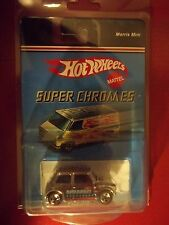 2006 Hot Wheels Target Super Chromes Morris Mini Cooper Redlines RL5SPs