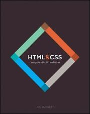 HTML and CSS : Design and Build Websites by Jon Duckett (2011, Paperback)